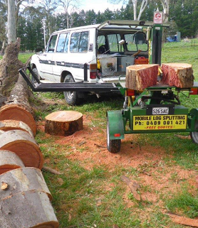 Adelaide Mobile Log Splitting Service